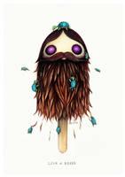 Lick A Beard by Simanion