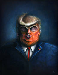 Trump Nightmare by Simanion