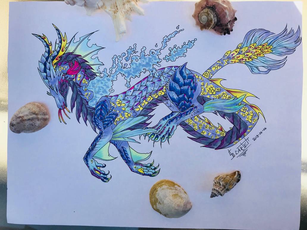 Sea Dragon: -points- Open by ScarletKnightReterns on DeviantArt