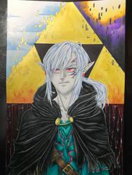 Dark Link by ScarletKnightReterns