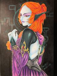 Twilit Princess Midna by ScarletKnightReterns