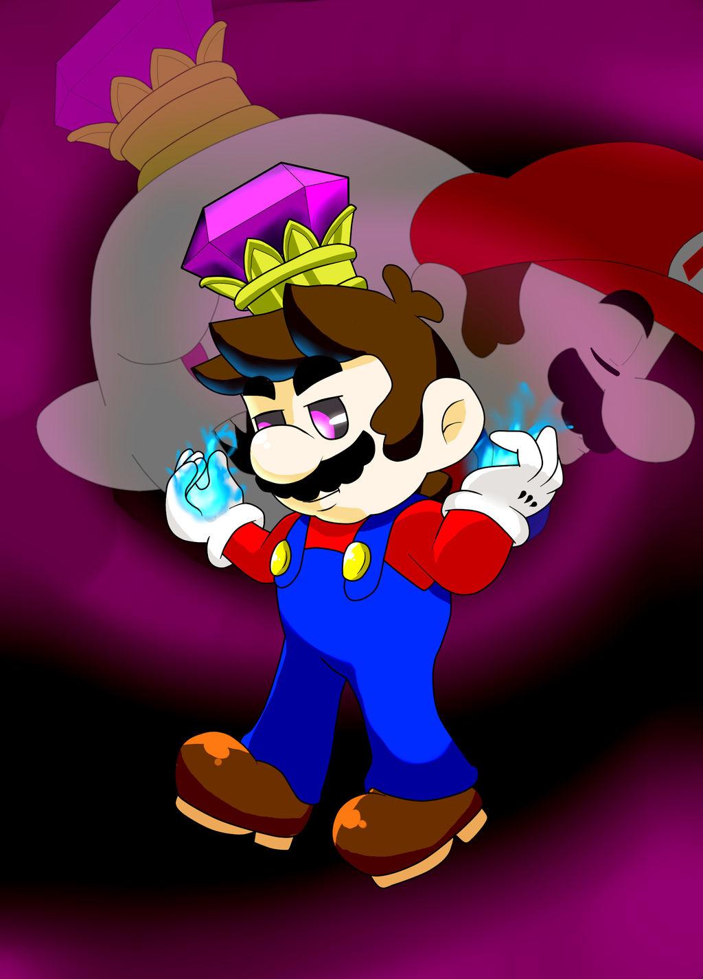 Mario Possessed By King Boo By Geekythemariotaku On Deviantart