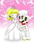 Wedding Mario and Peach