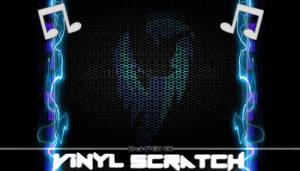 Vinyl Scratch Background