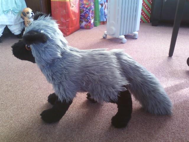 Silver Fox Stuffed Animal, Silver Fox Plush By Gluevah On Deviantart