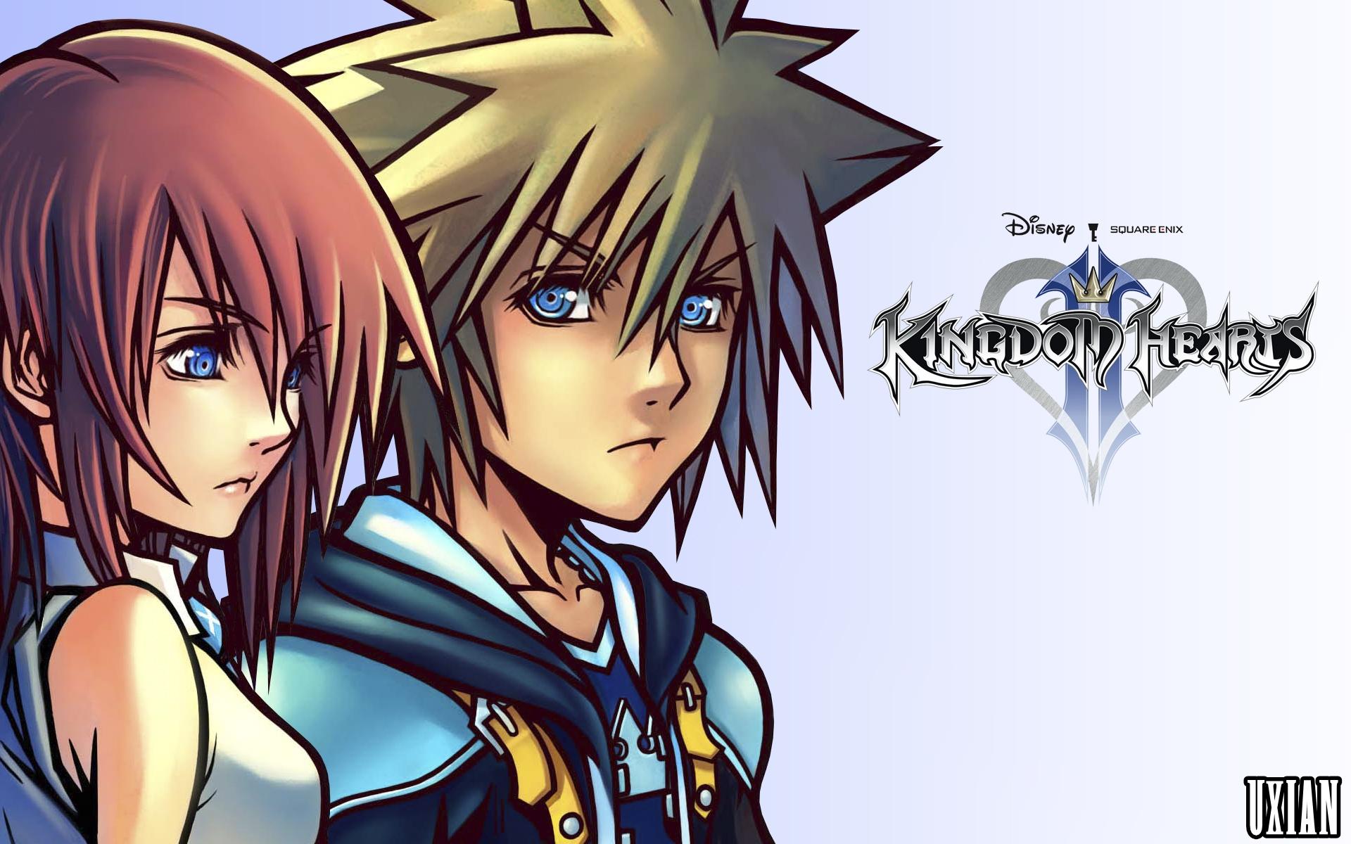 Sora and Kairi HD Wall...