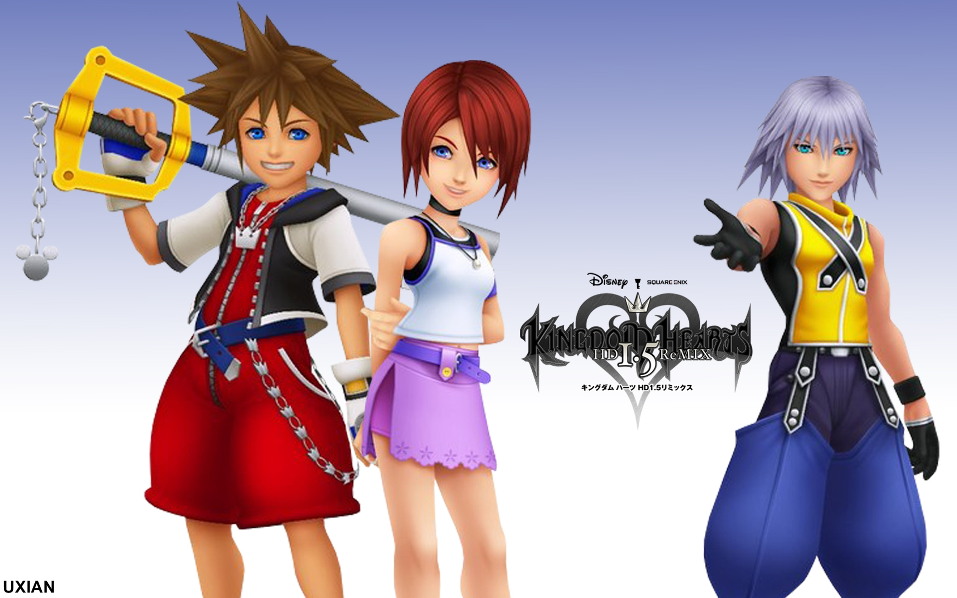 Kingdom Hearts 15 Hd Remix By Uxianxiii On Deviantart