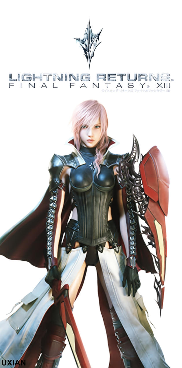 Lightning Returns: Final Fantasy XIII Scroll by UxianXIII