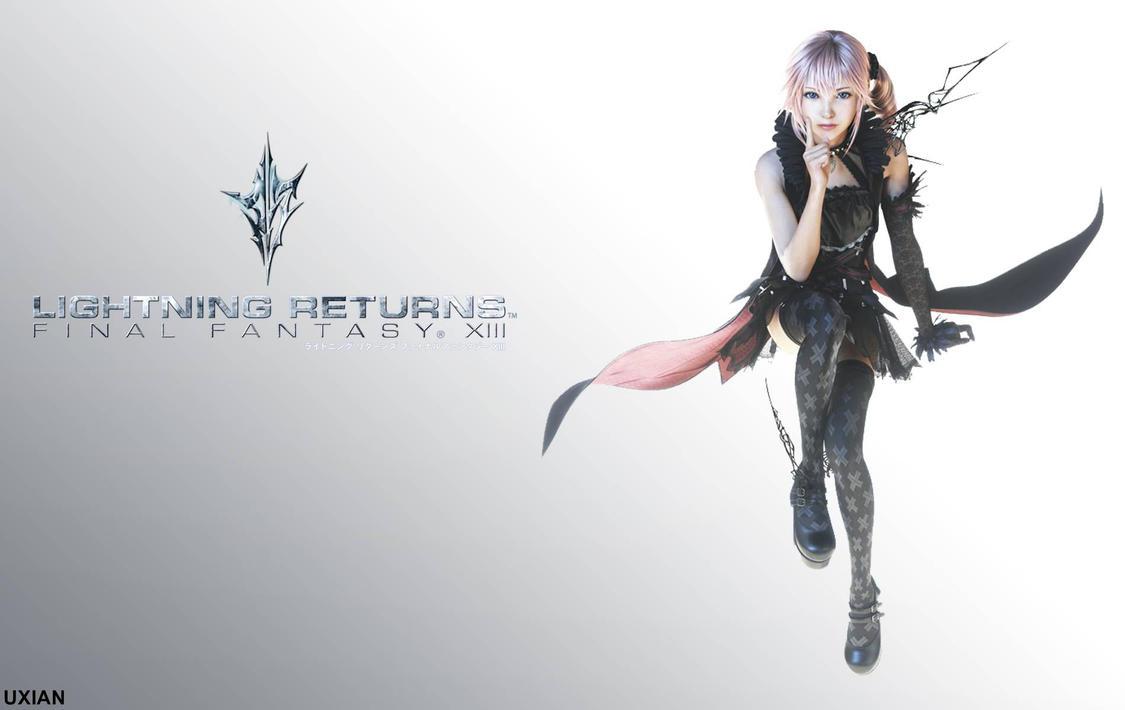 Final Fantasy Serah And Lightning Lightning Returns Final