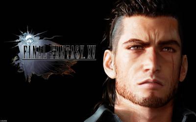 Gladiolus - Final Fantasy XV by UxianXIII