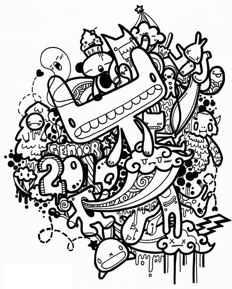 Design t shirt art - Senior Tshirt Design By Justalilodreamer