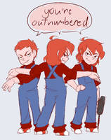 Outnumbered by Trans-Karamatsu