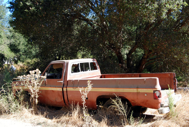 Old Truck-Stock by Thorvold-Stock