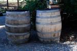 Wine barrels-Stock