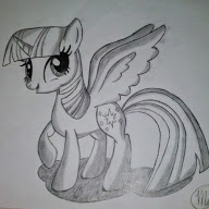 Alicorn Twilight Sparkle Sketch by SepperAlways9