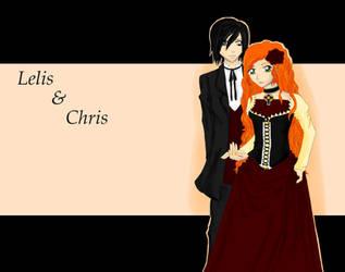 lelis und chris by chibikisarachan