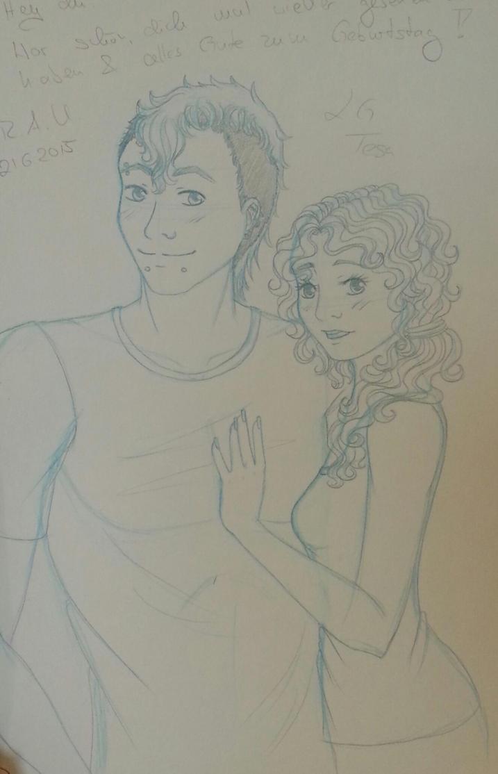 aurelio and luc - sketch by chibikisarachan