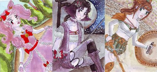 Kakao312-314 - STA Sailor Moon Fashion by chibikisarachan