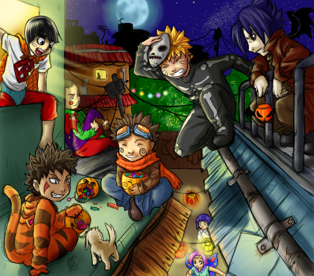 ��� ���� ������ ���� ��� ����� ������ 2012 ������   ������   ��� Naruto_Halloween_by_