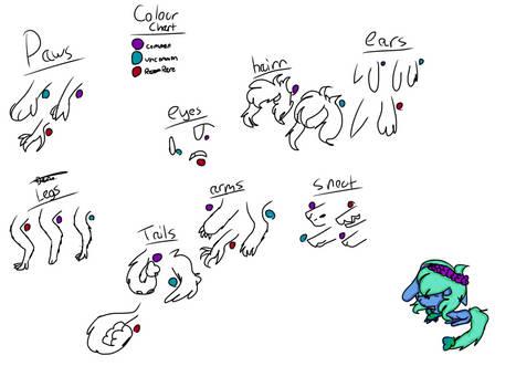 tulopalas colour chart
