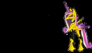 Discord Discordant - Princess Cadance Concept