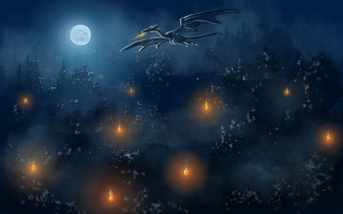 Winter's Lights by leksbronks
