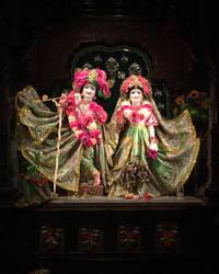 Sri Sri Rukmini-Dvarakadisha by leksbronks