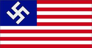 Flag of Nazi occupied America