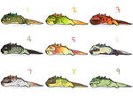 iguana adopts (Open) by SolarAnastasia