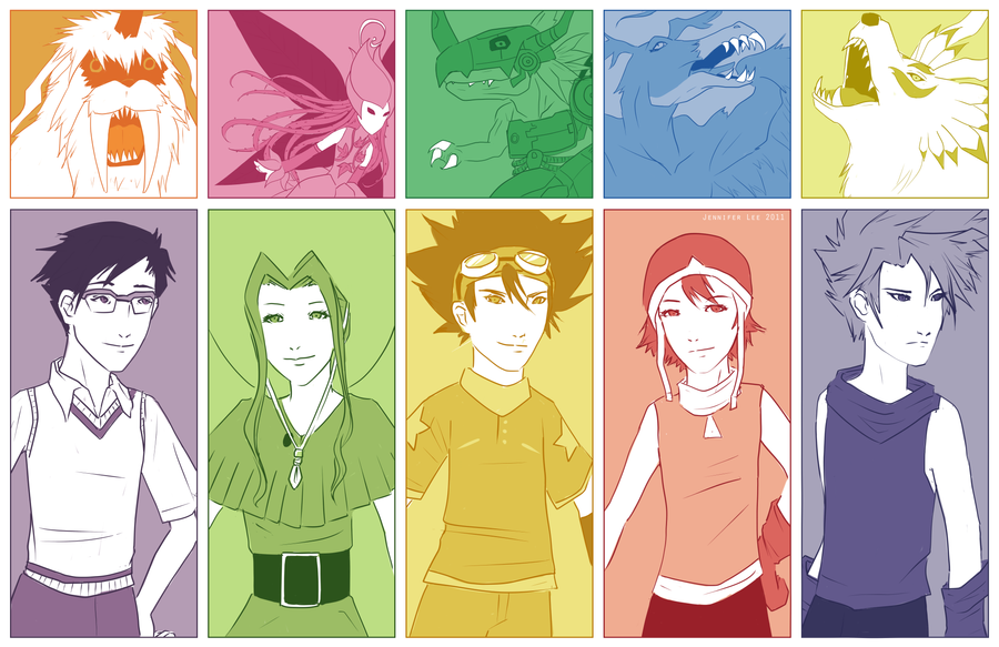 Digimon by kiwifairy