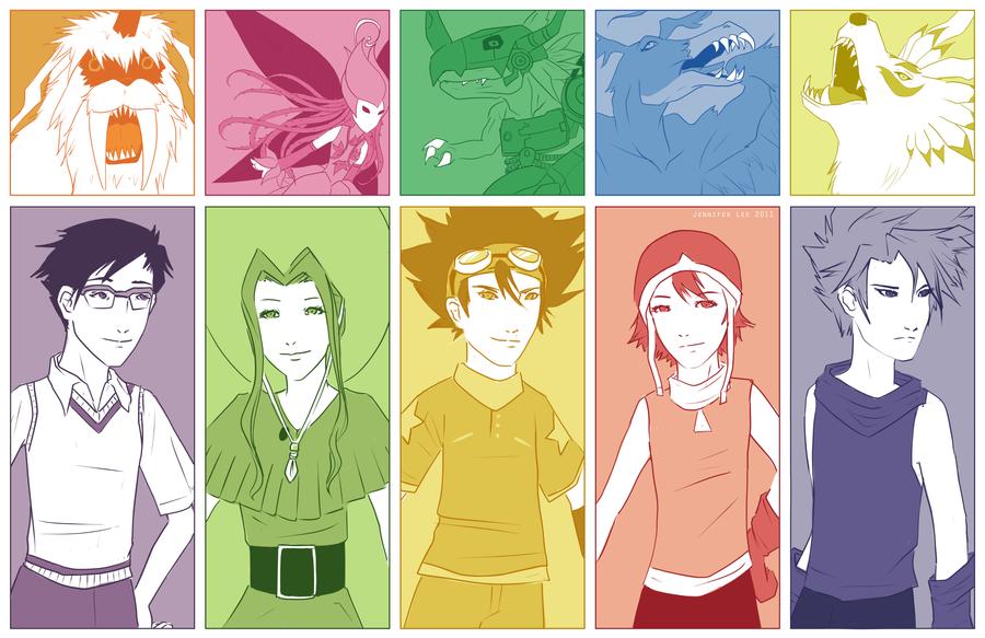 Digimon by kiwifairy