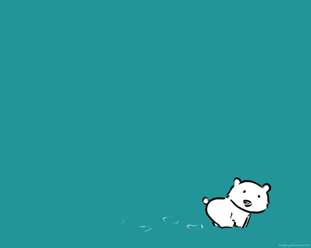 Polar Bear Wallpaper by kiwifairy on DeviantArt