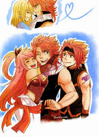 Nalu family by Shandisworld