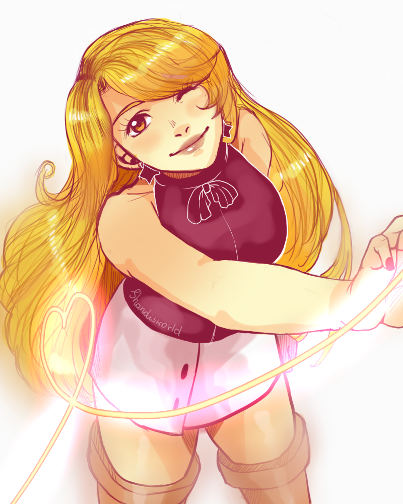 Blondie doodle by Shandisworld