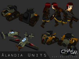 Various Alandia Units by DelphaDesign
