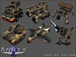 Annex Various Vehicles.