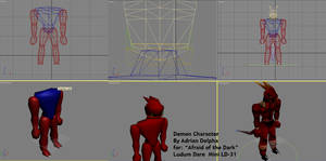 Demon WIP Ludum Dare Mini LD 31
