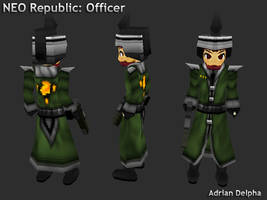 Neo Republic Officer by DelphaDesign