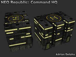 Neo Republic Command HQ by DelphaDesign