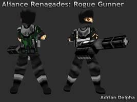 Renegade: Rogue Gunner by DelphaDesign