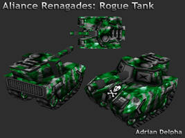 Alliance Renegades: Rogue Tank by DelphaDesign