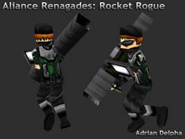 Alliance Renegades: Rocket Rogue by DelphaDesign