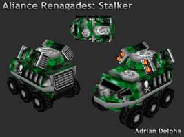 Alliance Renegades: Stalker by DelphaDesign