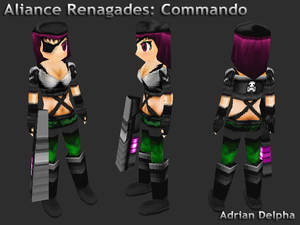 Alliance Renegades: Commando