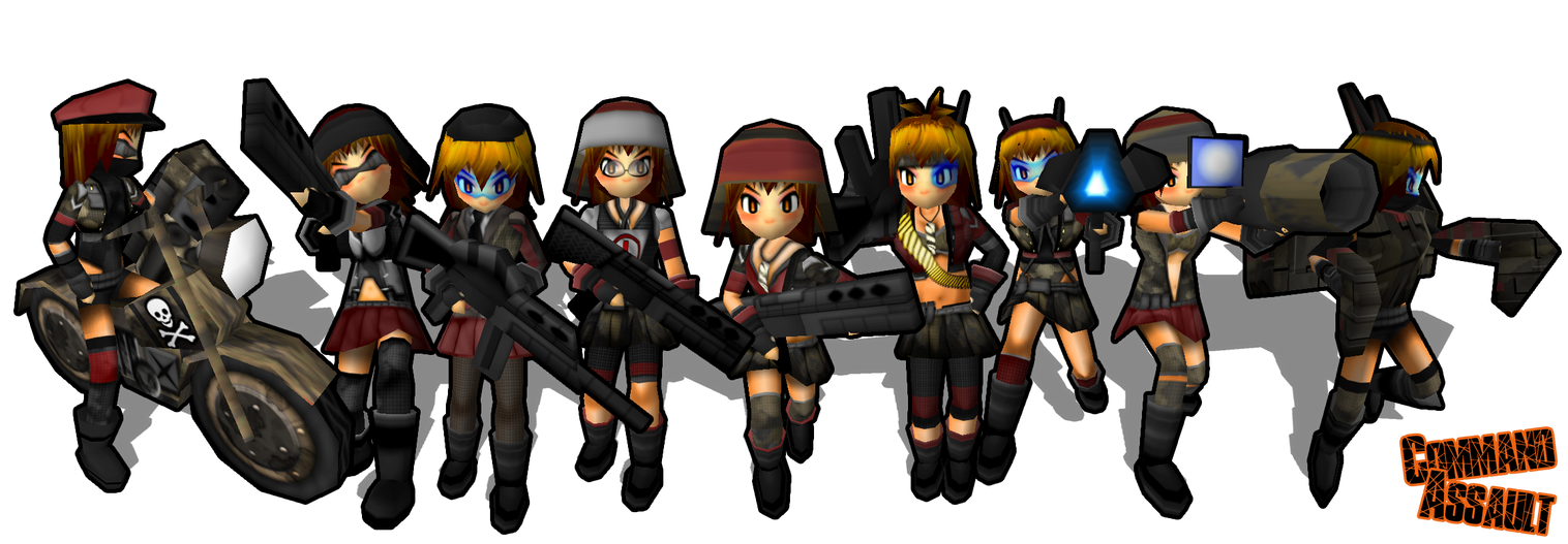 Command Assault Girls by DelphaDesign