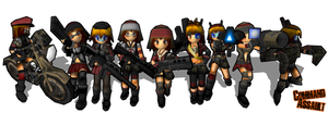 Command Assault Girls