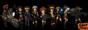 Command Assault Girls