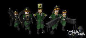Chasm Cruix Infantry