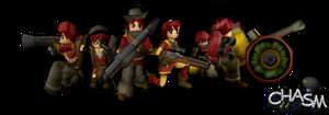 Chasm Alandia Infantry