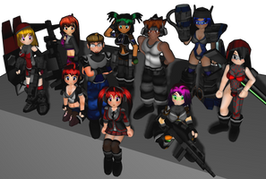 Synthetic Onslaught Shrikes Group Photo